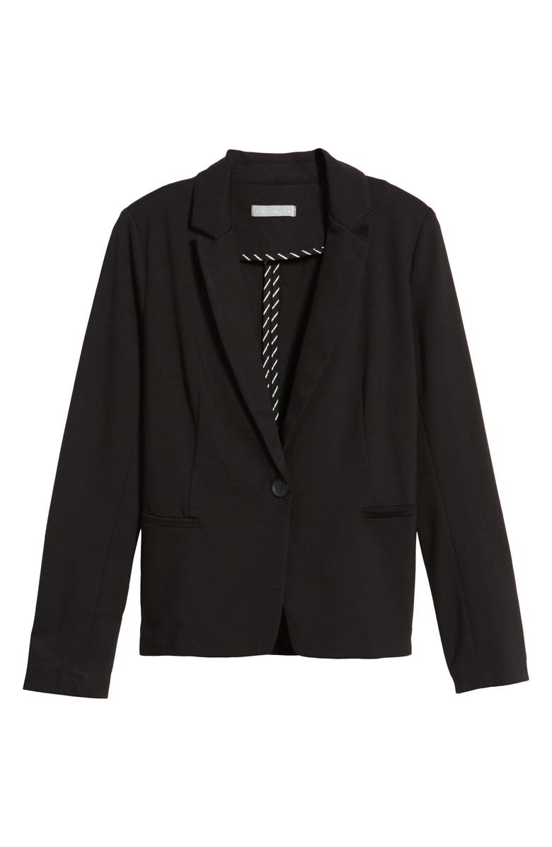 OLIVIA MOON Knit Blazer, Main, color, 001