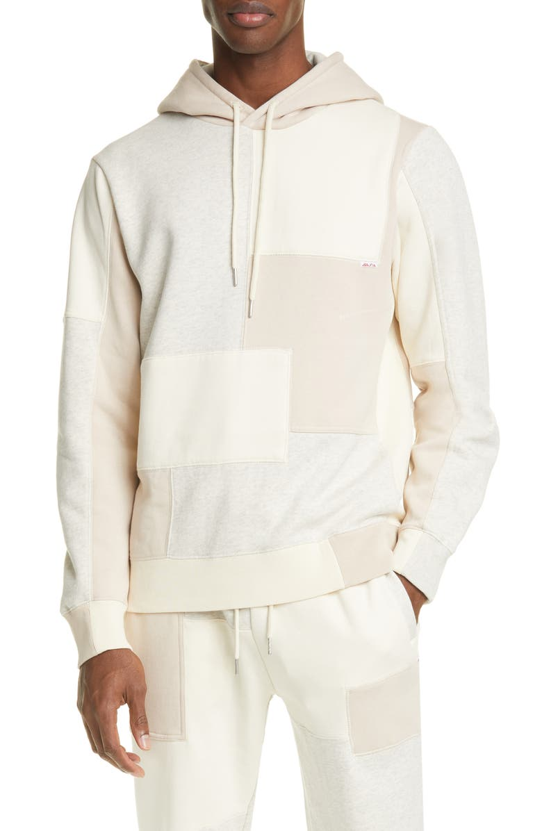 OVADIA Patchwork Hoodie, Main, color, 112