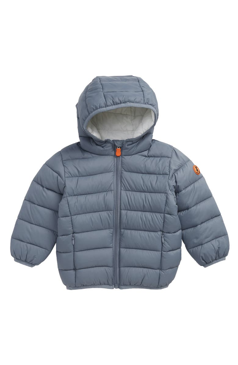 SAVE THE DUCK Giga Water Repellent Hooded Puffer Jacket, Main, color, 457