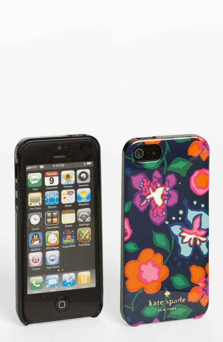 KATE SPADE NEW YORK 'mexican floral' iPhone 5 & 5S case, Main, color, 401