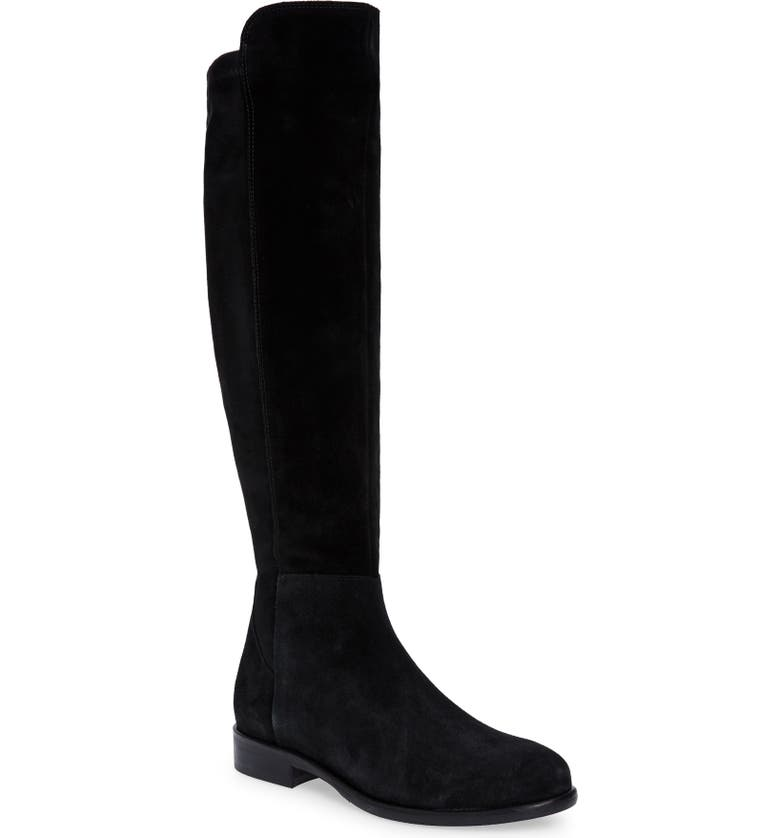 CORDANI Bethany Over the Knee Boot, Main, color, BLACK SUEDE
