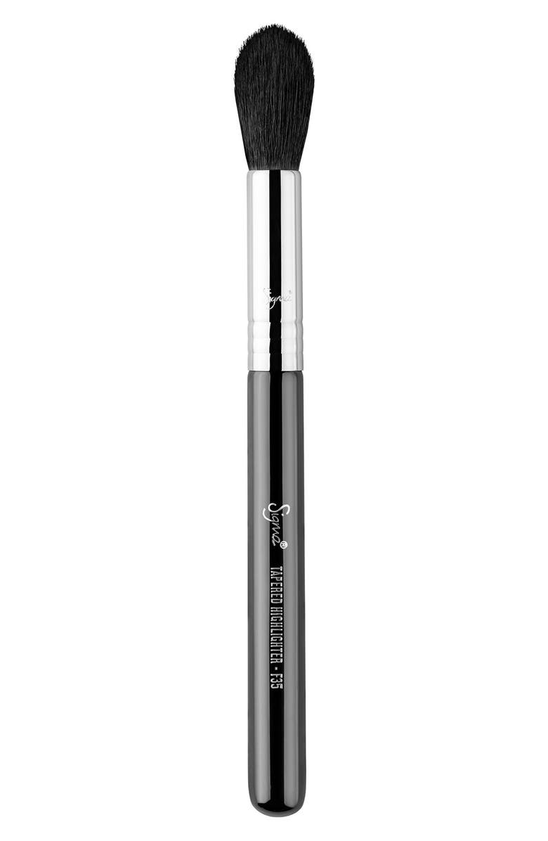 SIGMA BEAUTY F35 Tapered Highlighter Brush, Main, color, NO COLOR