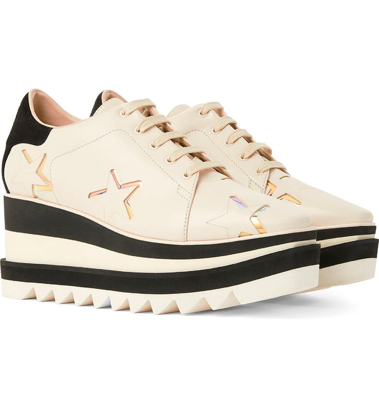 STELLA MCCARTNEY Sneak-Elyse Platform Sneaker, Main, color, GREY/ MULTICOLOR
