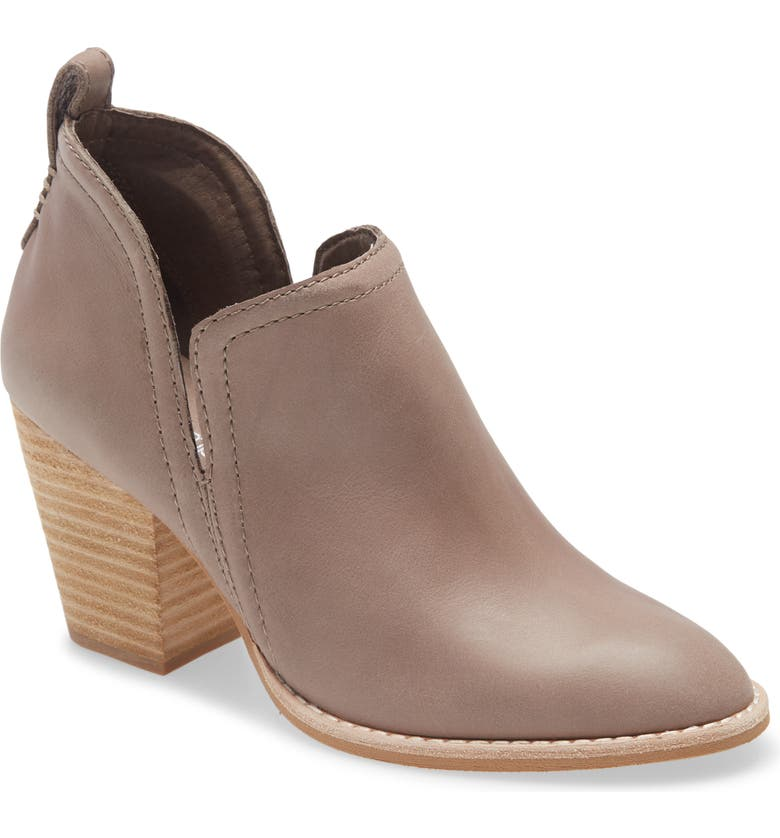 JEFFREY CAMPBELL Rosalee Bootie, Main, color, TAUPE LEATHER