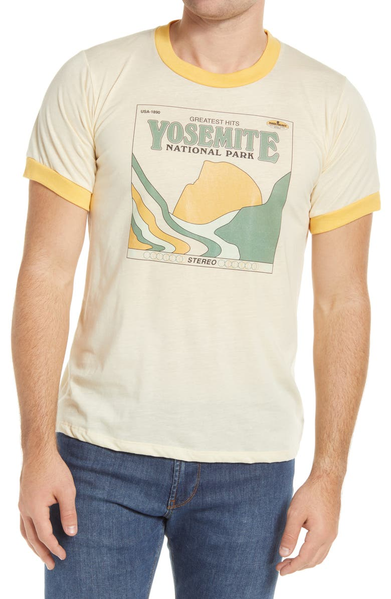 PARKS PROJECT Yosemite's Greatest Hits Graphic Tee, Main, color, 116