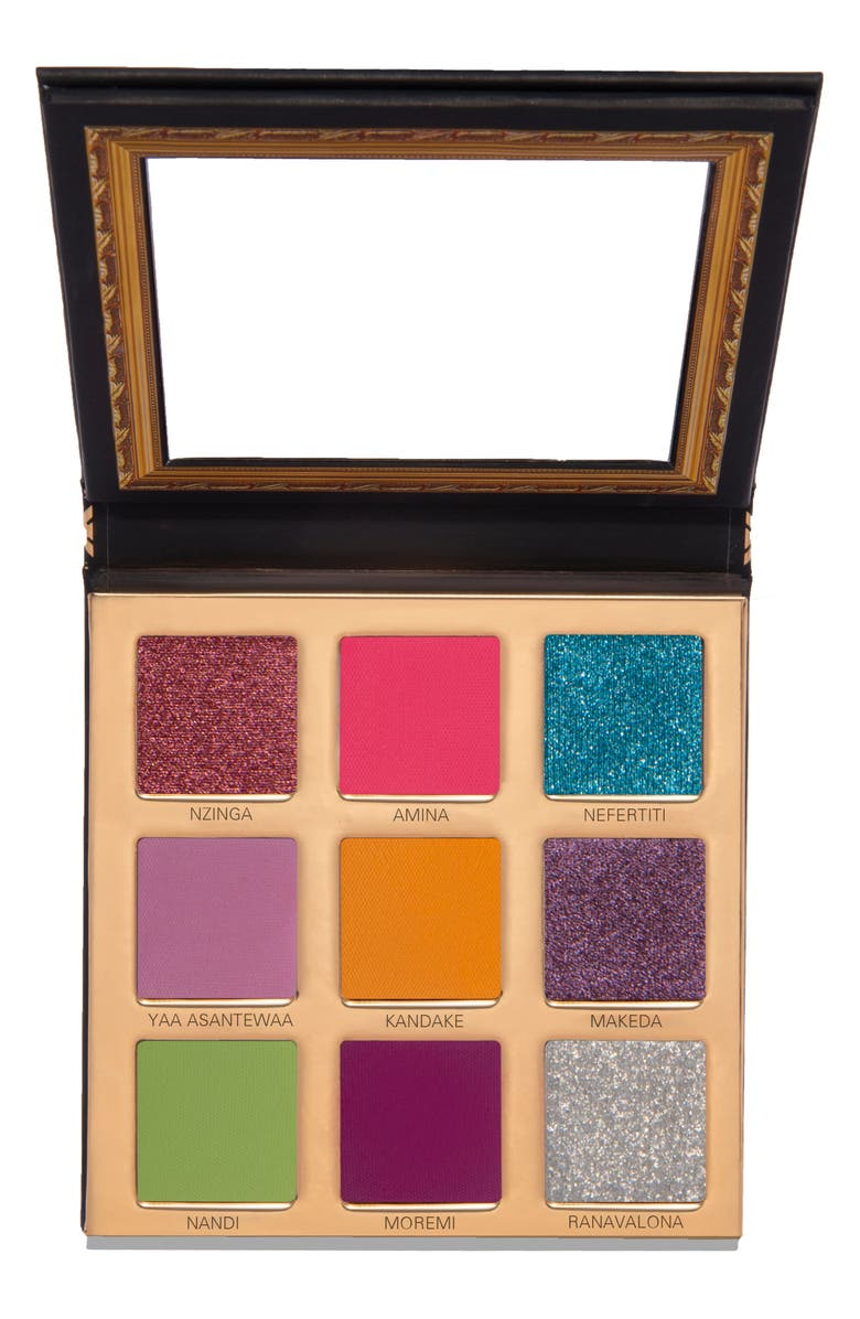 UOMA BEAUTY Black Magic 'Coming 2 America' Queen to Be Color Palette, Main, color, NO COLOR