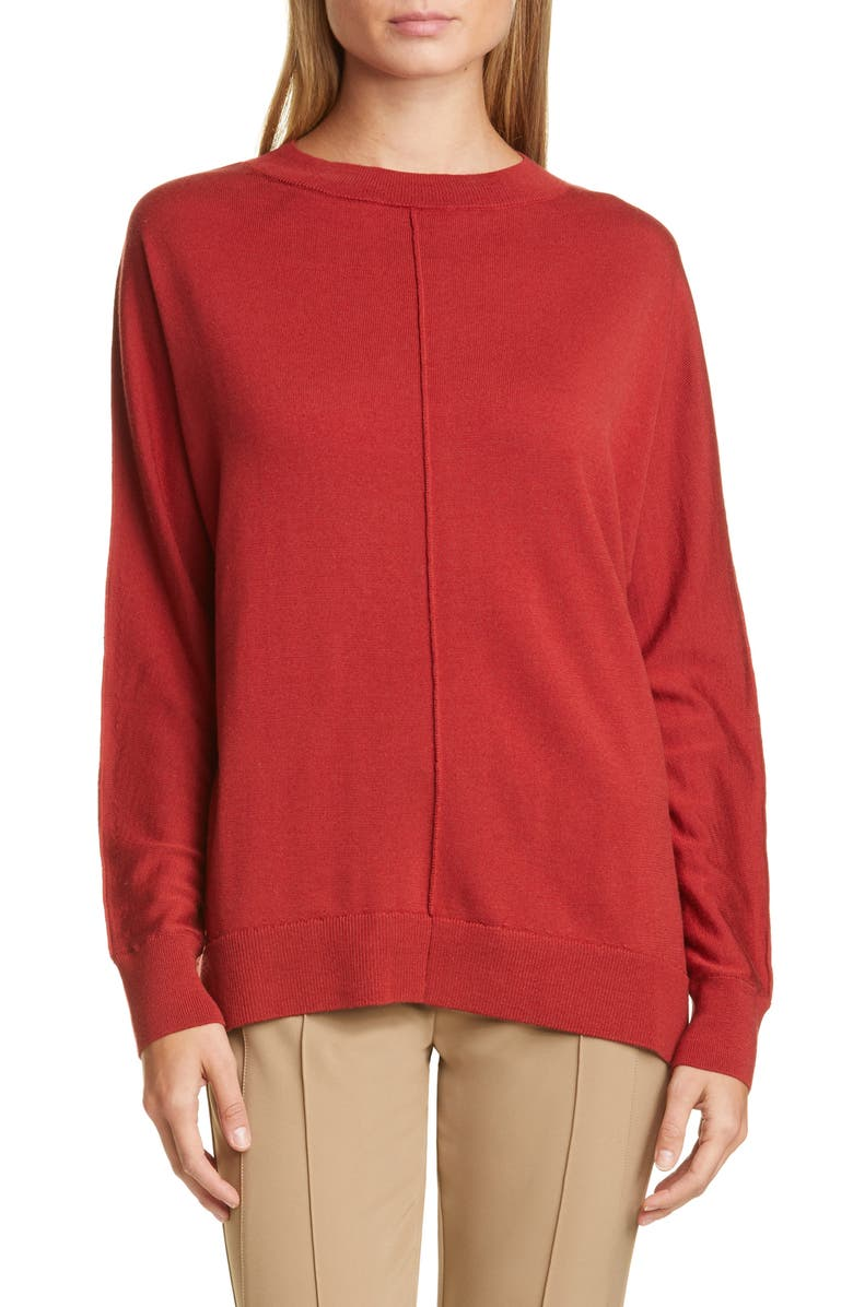 LAFAYETTE 148 NEW YORK Relaxed Dolman Sweater, Main, color, 600