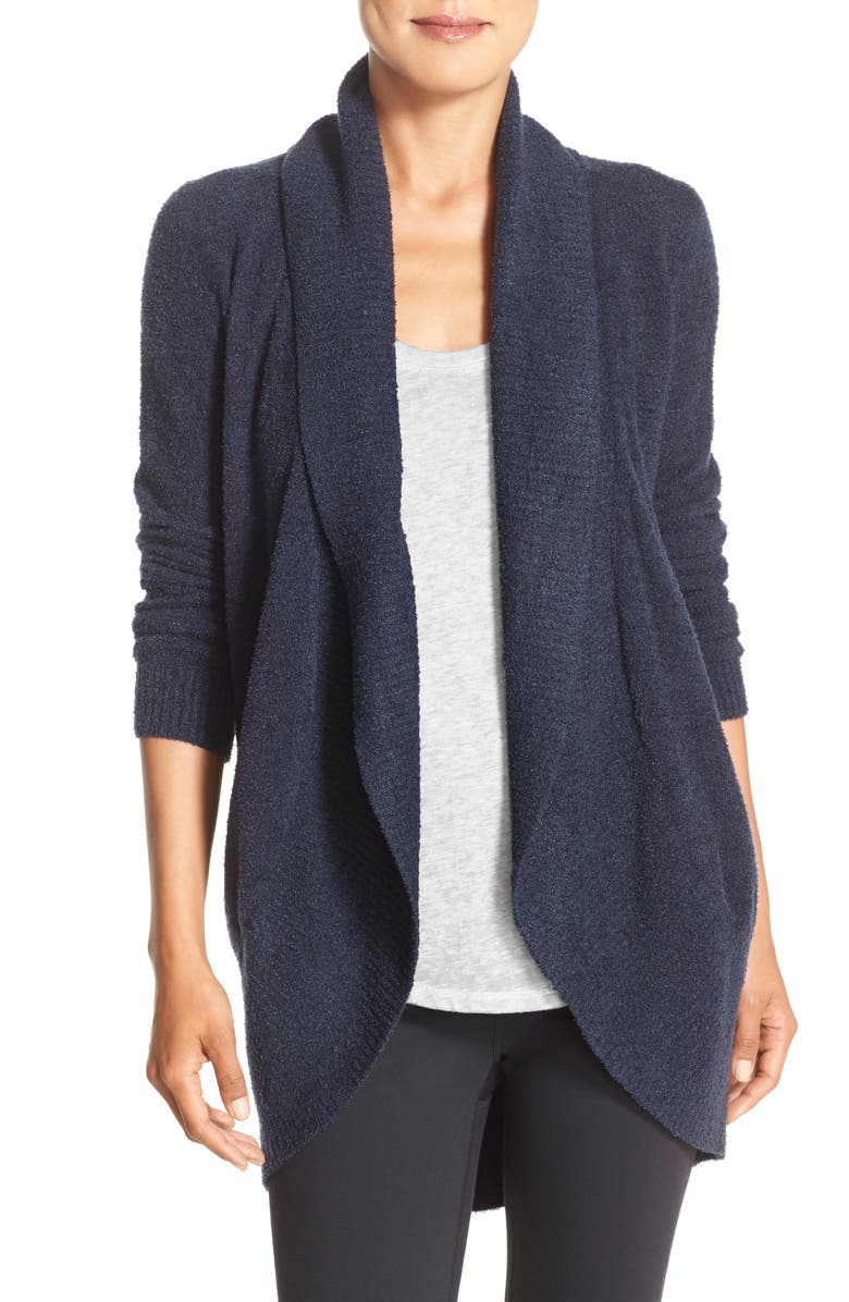 BAREFOOT DREAMS<SUP>®</SUP> CozyChic Lite<sup>®</sup> Circle Cardigan, Main, color, INDIGO