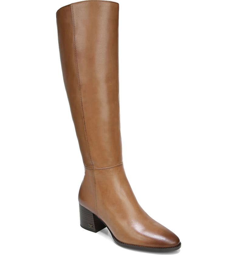 SAM EDELMAN Kerby Knee High Boot, Main, color, NEW WHISKEY