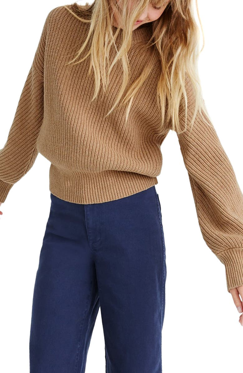 MADEWELL Fairbanks Pullover Sweater, Main, color, 200