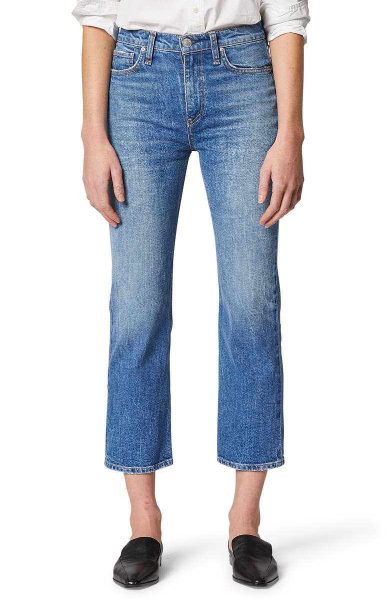 HUDSON JEANS Remi High Waist Crop Straight Leg Jeans, Main, color, 402