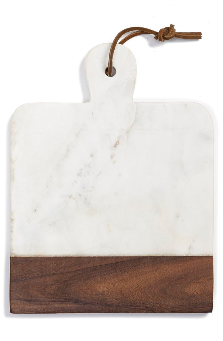 THIRSTYSTONE Marble & Wood Paddle Board, Main, color, 100