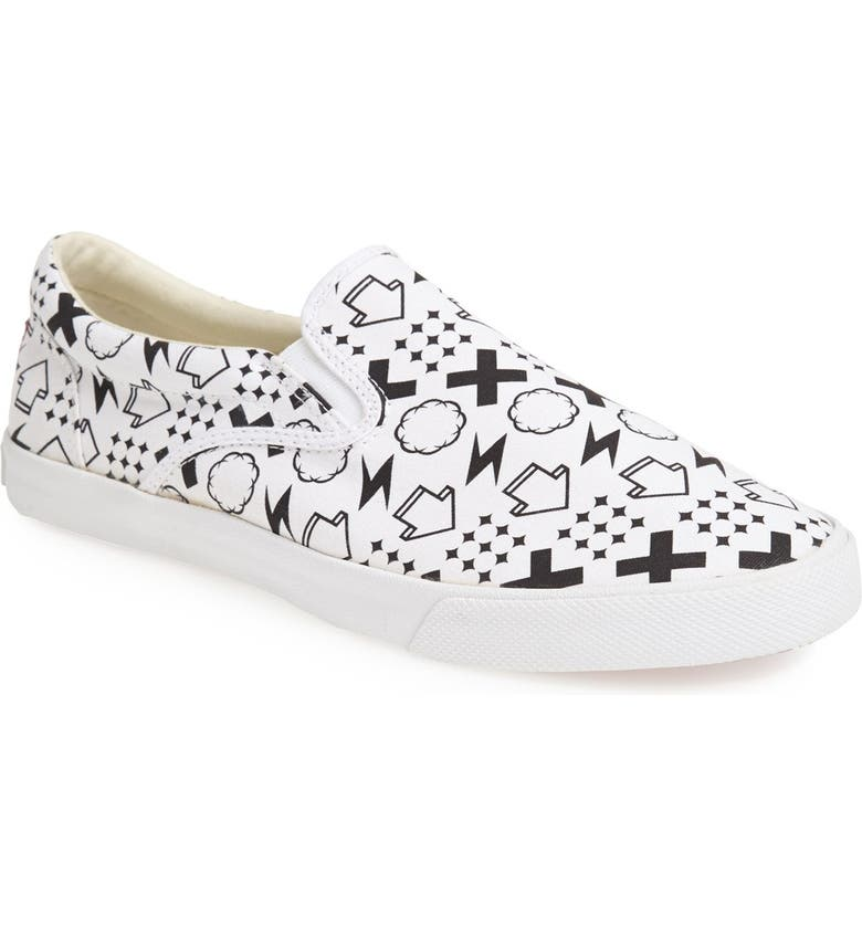 BUCKETFEET 'Monogram' Slip-On Sneaker, Main, color, 001