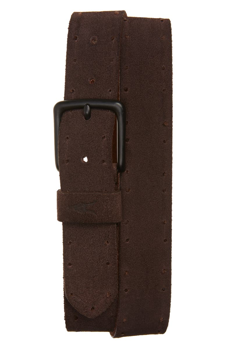 ALLSAINTS Suede Belt, Main, color, 200