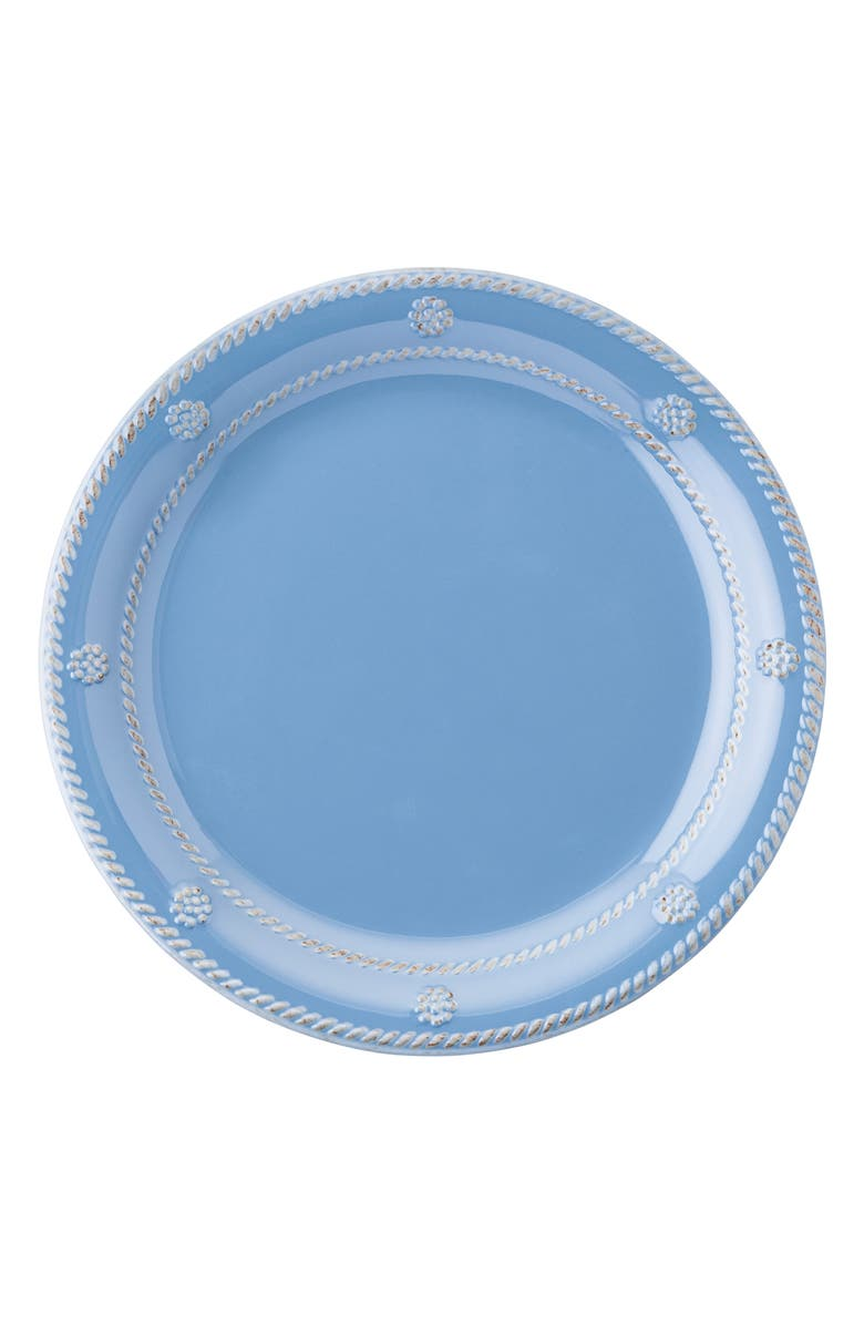 JULISKA 'Berry and Thread' Dinner Plate, Main, color, CHAMBRAY