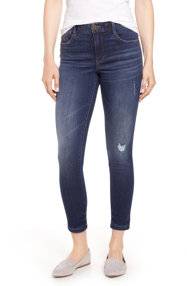 WIT & WISDOM Ab-Solution Ankle Skinny Jeans, Main, color, 420