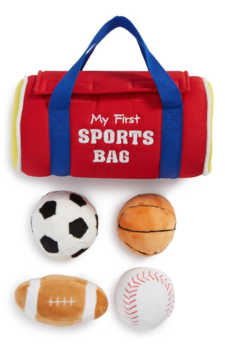 GUND Baby Gund My First Sports Bag Play Set, Main, color, RED