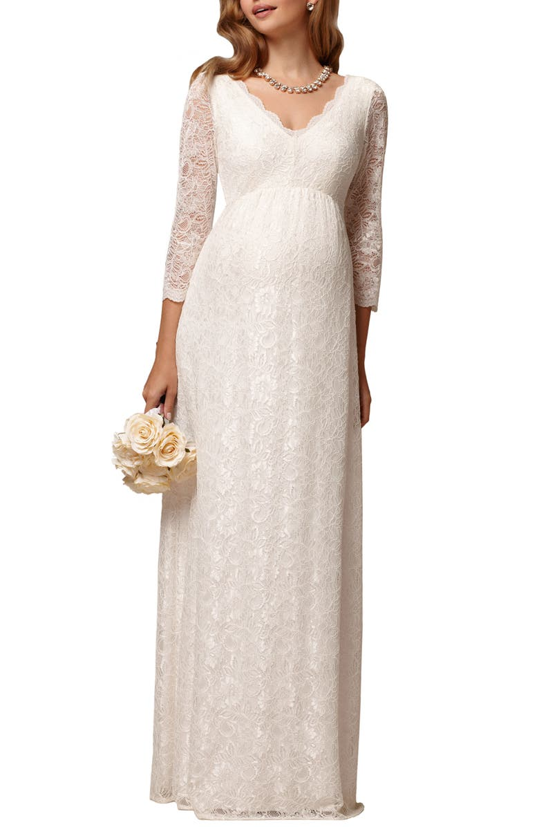 Tiffany Rose Chloe Lace Maternity Gown Nordstrom
