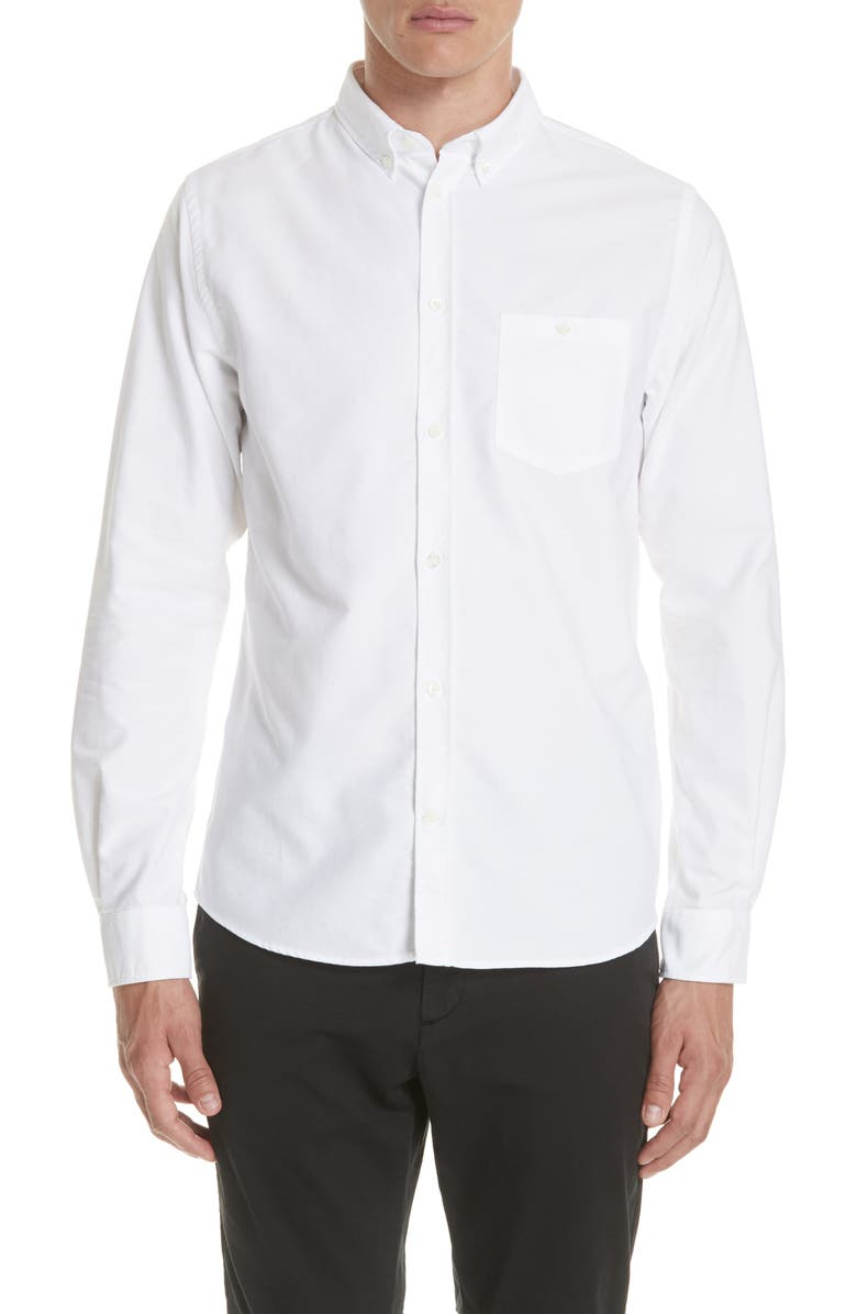 NORSE PROJECTS Anton Oxford Sport Shirt, Main, color, 100