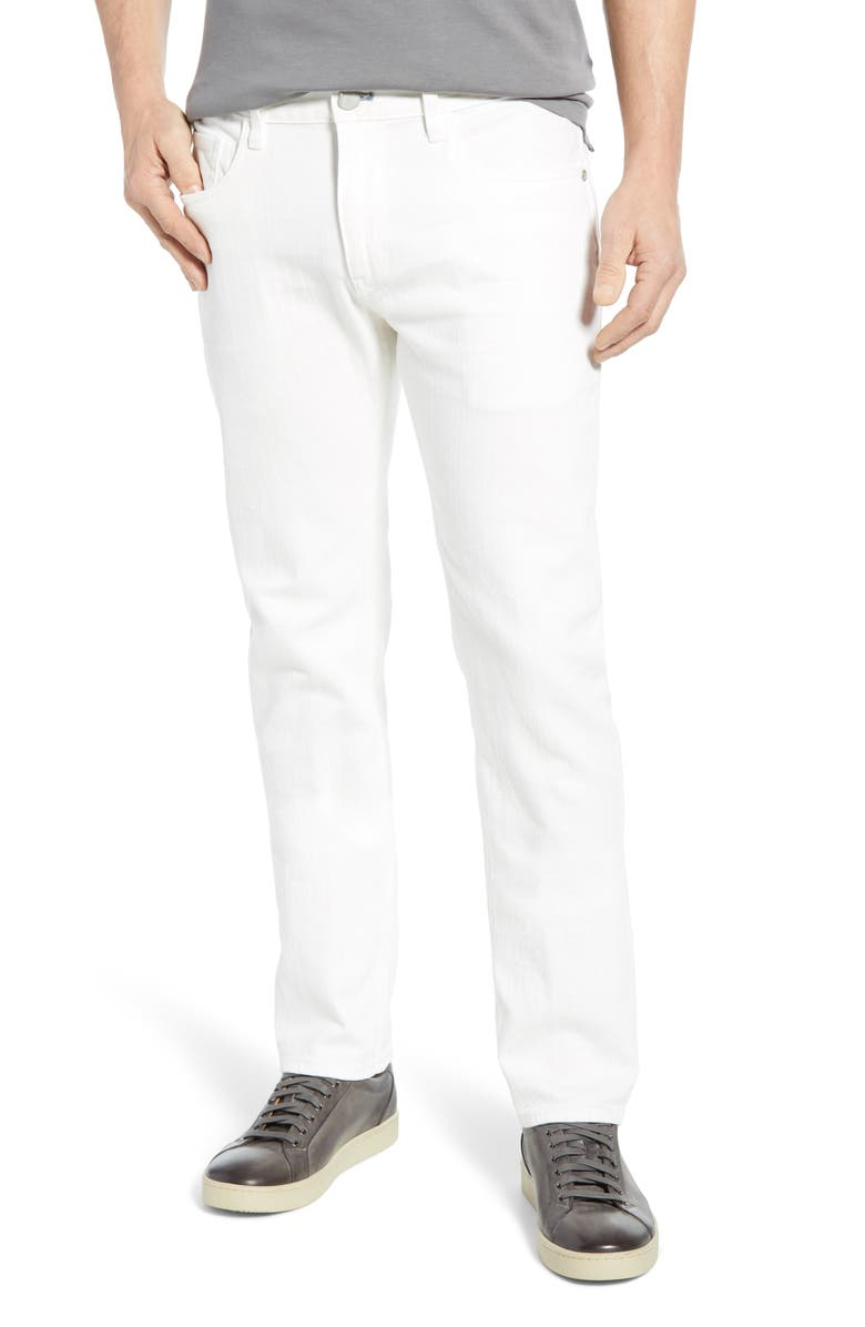 ROBERT GRAHAM Curtis Straight Leg Jeans, Main, color, 100