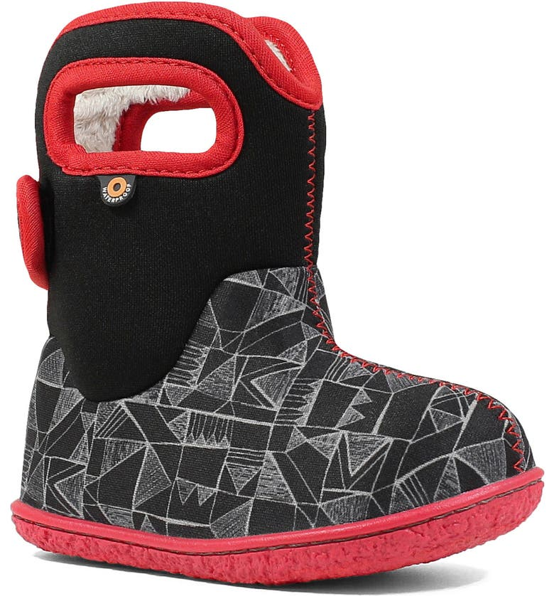 BOGS Baby Bogs Geo Maze Insulated Waterproof Boot, Main, color, 009