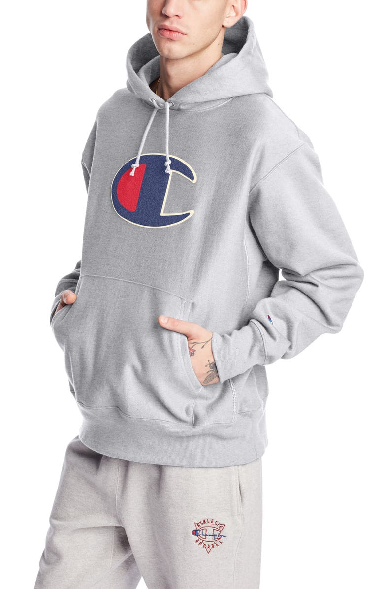 CHAMPION Reverse Weave<sup>®</sup> Hoodie, Main, color, 021
