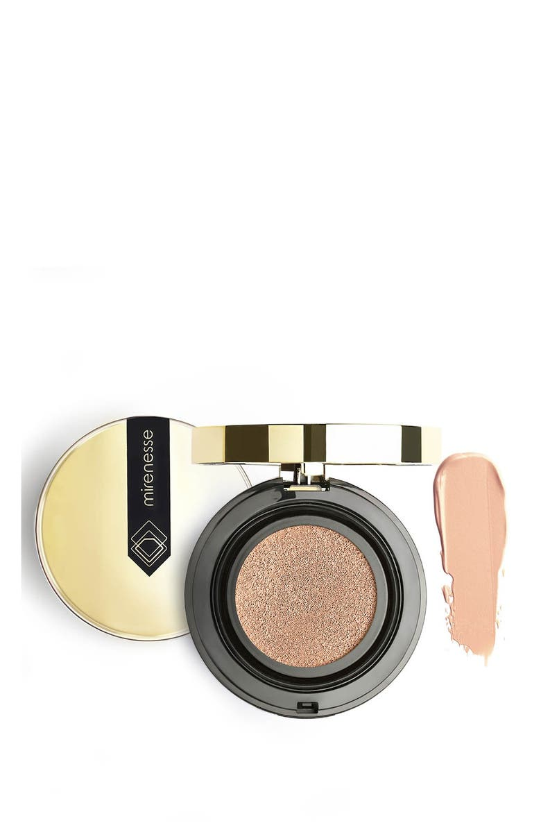 MIRENESSE 10 Collagen Cushion Compact Airbrush Foundation 23 - Mocha, Main, color, no color