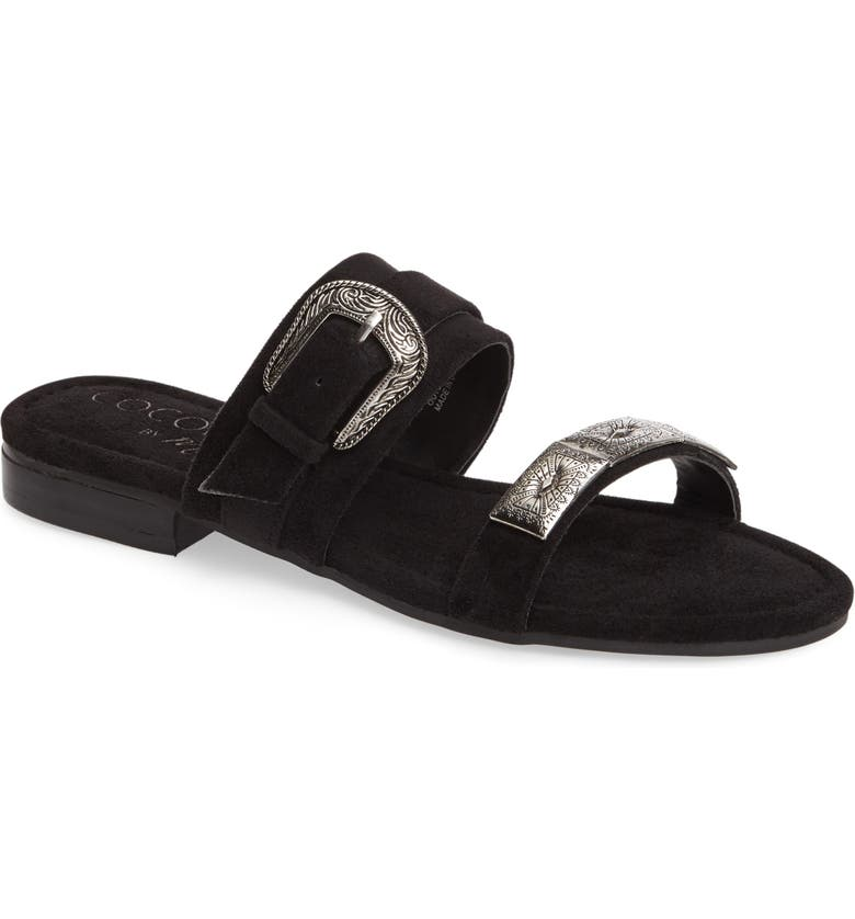 MATISSE Brantley Buckle Slide Sandal, Main, color, 006