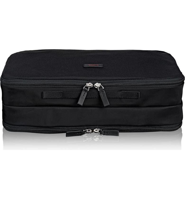 TUMI Large Double Side Packing Cube, Main, color, Black