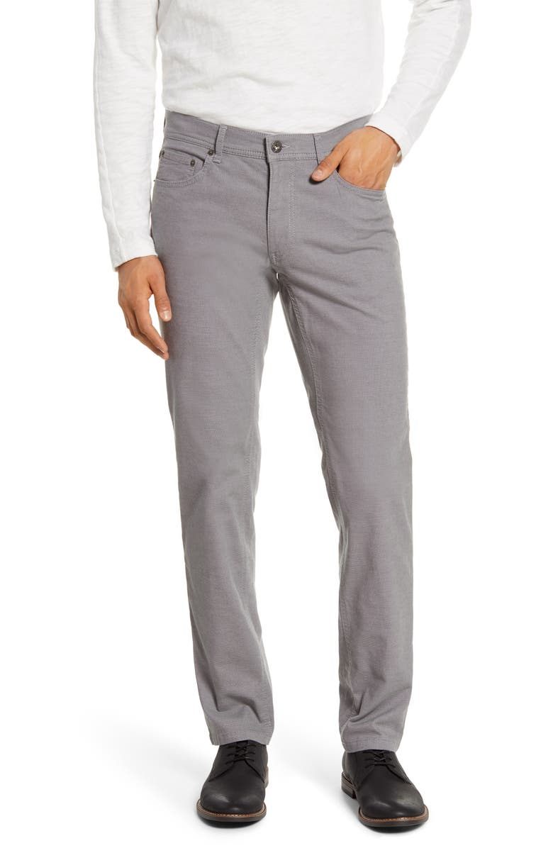 BRAX Cooper Fancy Straight Leg Pants, Main, color, 033