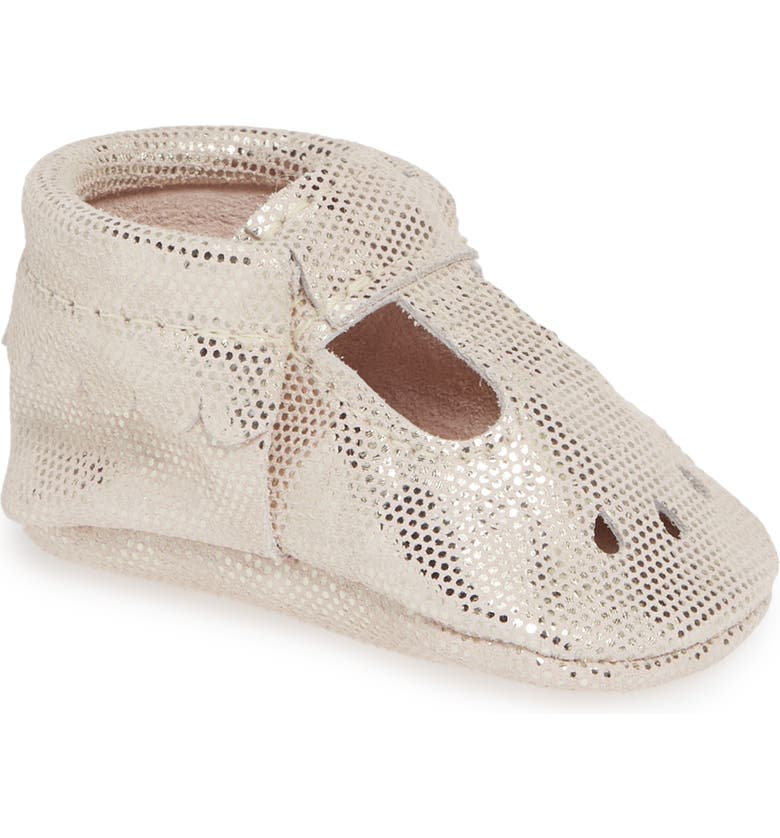 FRESHLY PICKED Metallic Dots Perforated Mary Jane, Main, color, 651
