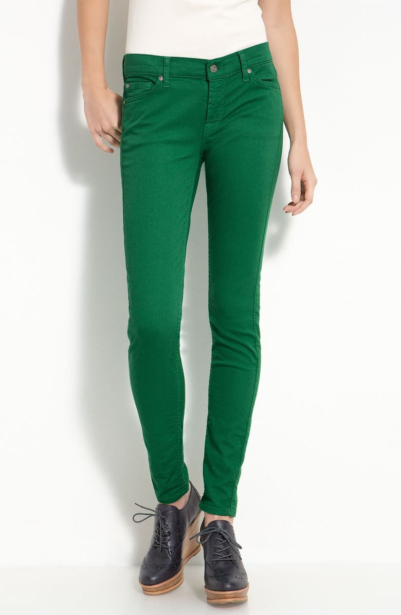 7 FOR ALL MANKIND<SUP>®</SUP> 'The Skinny' Overdyed Jeans, Main, color, 301
