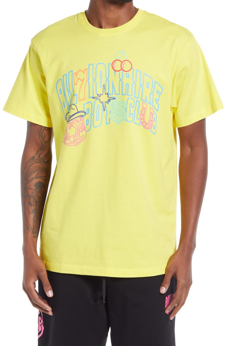 BILLIONAIRE BOYS CLUB Jackpot Graphic Tee, Main, color, MEADOWLARK