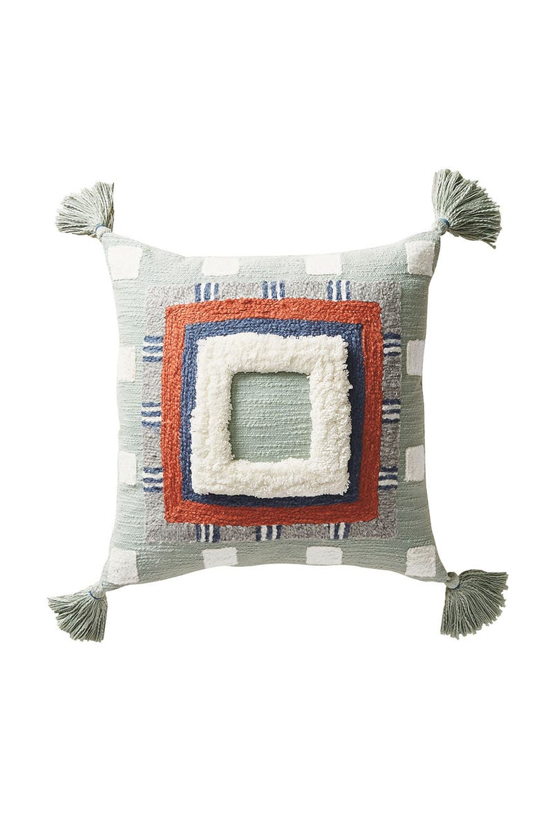 ANTHROPOLOGIE HOME Anthropologie Rayas Lumbar Accent Pillow, Main, color, 524