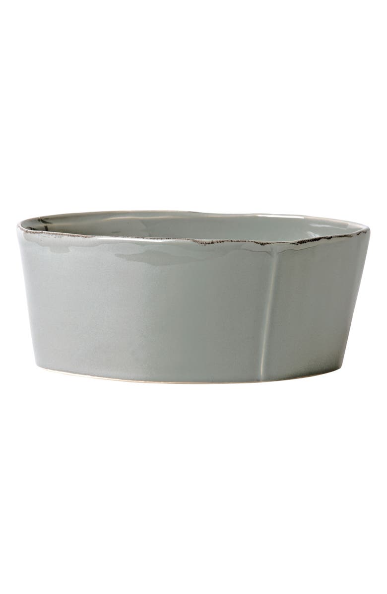 VIETRI Lastra Serving Bowl, Main, color, GRAY - LARGE