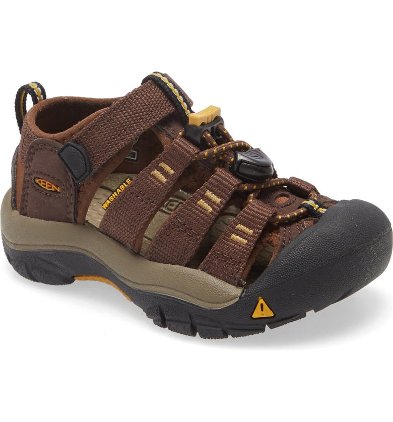 KEEN Newport H2 Water Friendly Sandal, Main, color, COFFEE BEAN/ BISON