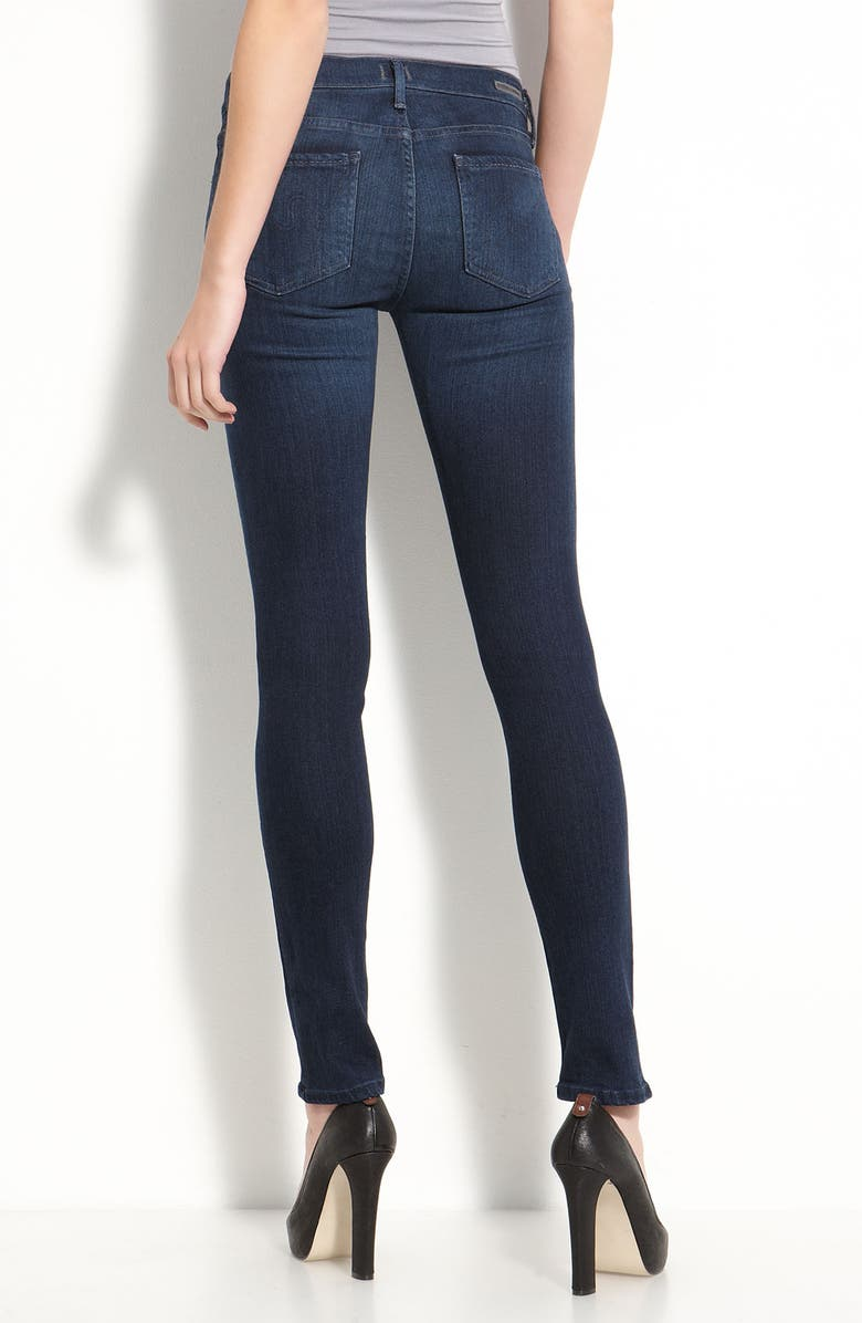 CITIZENS OF HUMANITY 'Second Skin' Stretch Denim Jeans, Main, color, SATELLITE