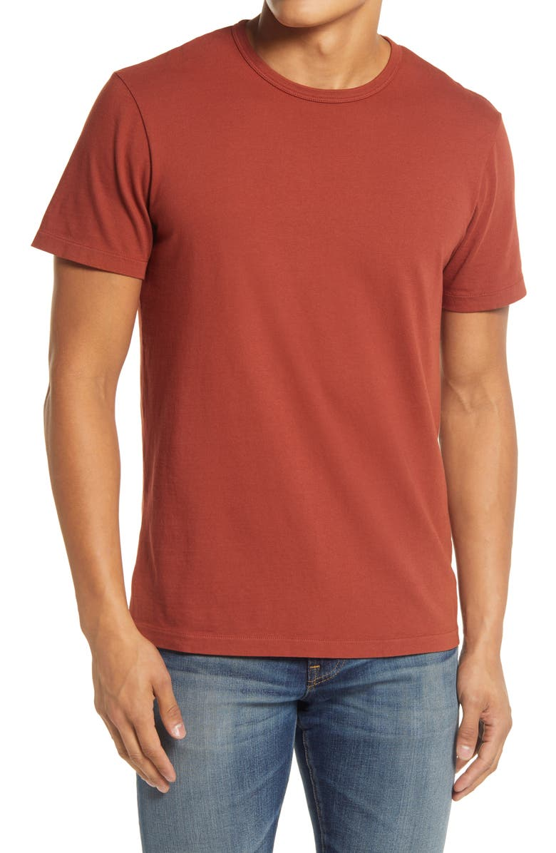 MADEWELL Garment Dyed Allday Crewneck T-Shirt, Main, color, 604