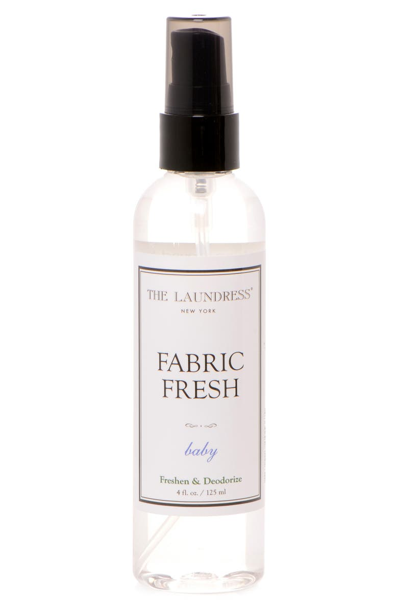 THE LAUNDRESS Baby Fabric Fresh Spray, Main, color, CLEAR