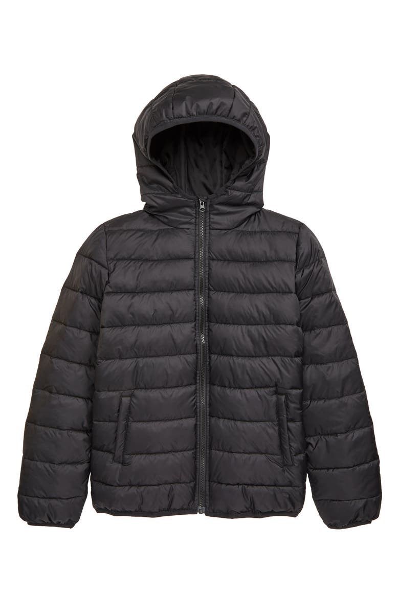 NORDSTROM Kids' Puffer Jacket, Main, color, 001