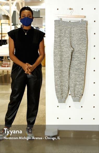 Bouclé Knit Jogger Pants, sales video thumbnail