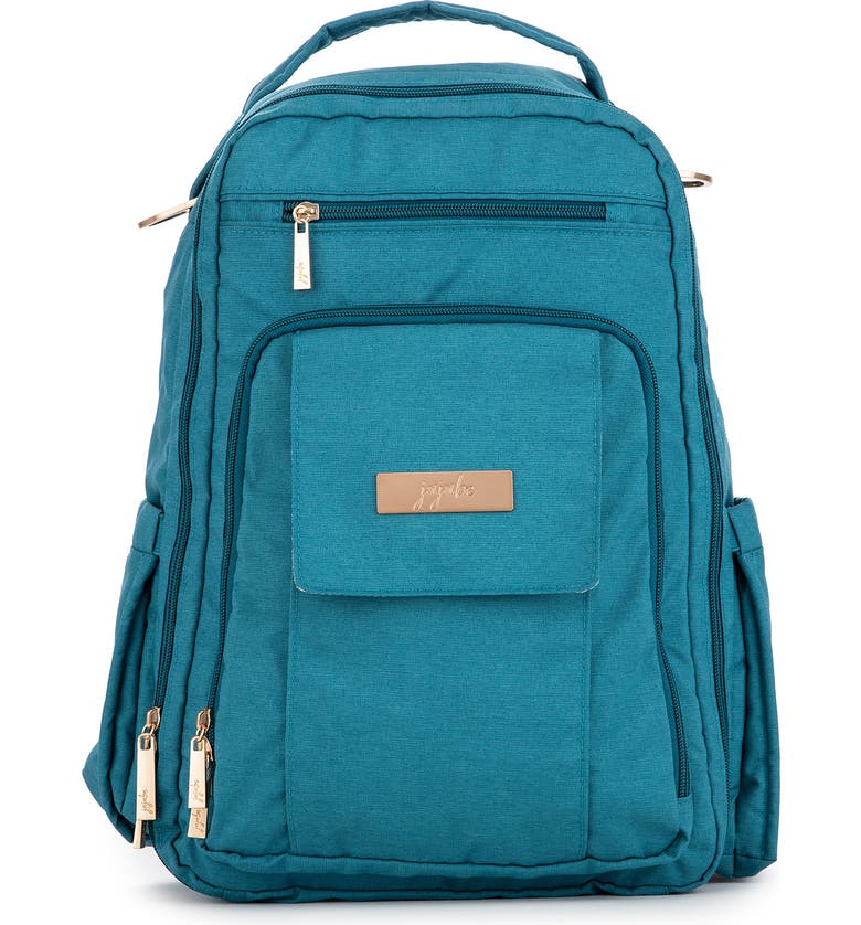 JU-JU-BE Be Right Back Diaper Backpack, Main, color, TEAL LAGOON