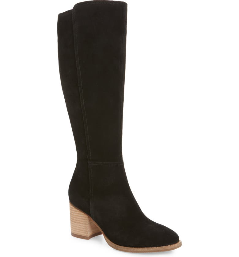 BLONDO Noreen Waterproof Knee High Boot, Main, color, 006