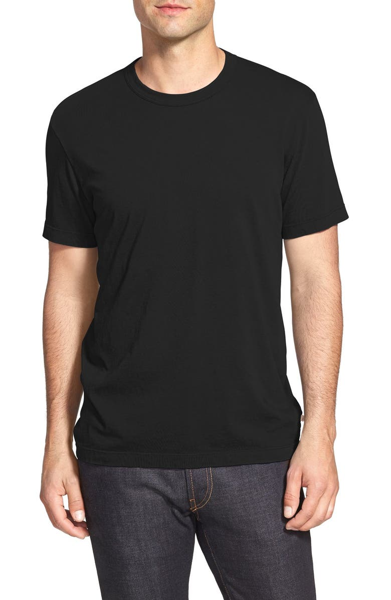 JAMES PERSE Crewneck Jersey T-Shirt, Main, color, 001