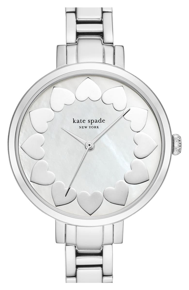KATE SPADE NEW YORK bracelet watch, 34mm, Main, color, 040