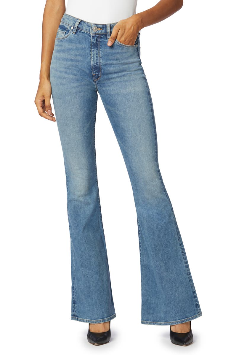 HUDSON JEANS Holly High Waist Flare Jeans, Main, color, DREAMERS