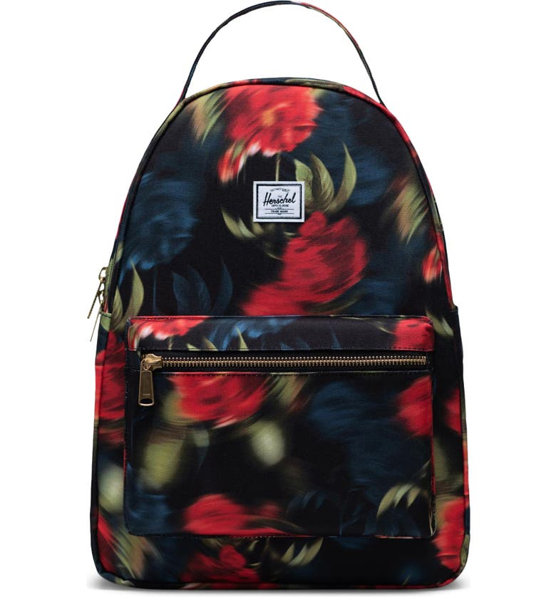 HERSCHEL SUPPLY CO. Nova Mid Volume Backpack, Main, color, BLURRY ROSES