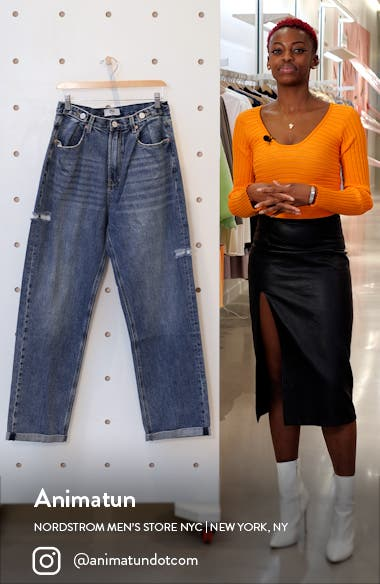 Hi And Loose Relaxed Jeans, sales video thumbnail