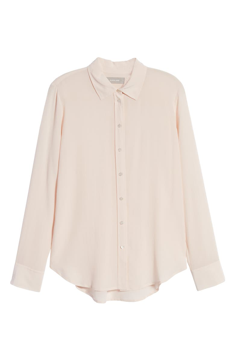 EVERLANE The Clean Silk Relaxed Shirt, Main, color, 650