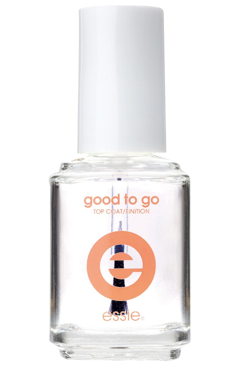 ESSIE <sup>®</sup> 'Good To Go!' Top Coat, Main, color, CLEAR